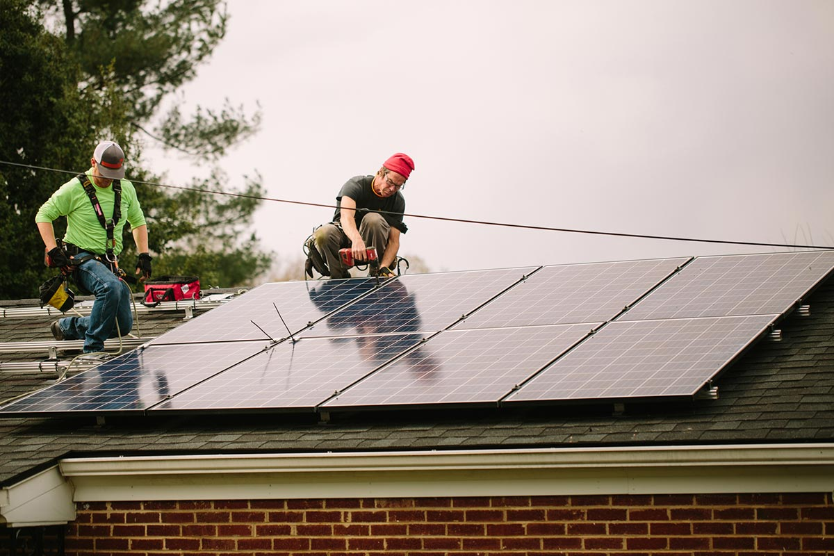 SELC Rooftop Solar - Photo by Jackson Smith