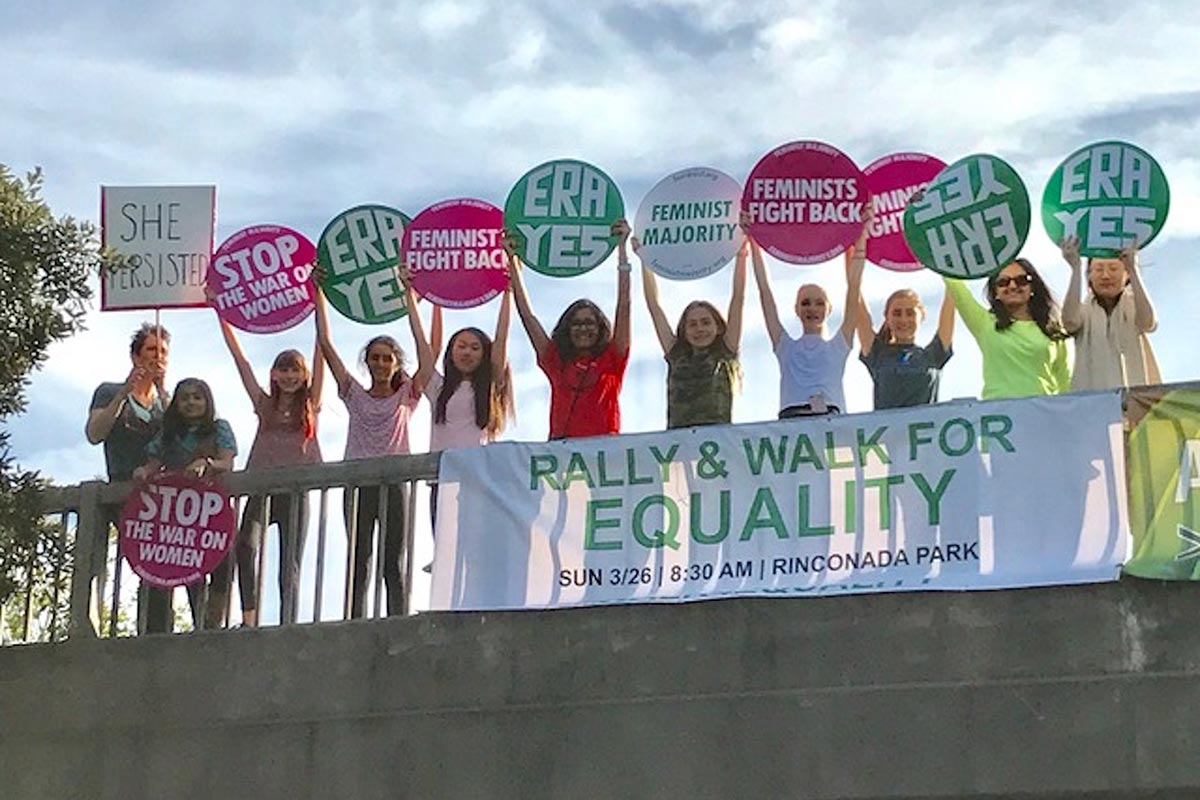 11.	GLI students at The Walk for Equality in Northern California